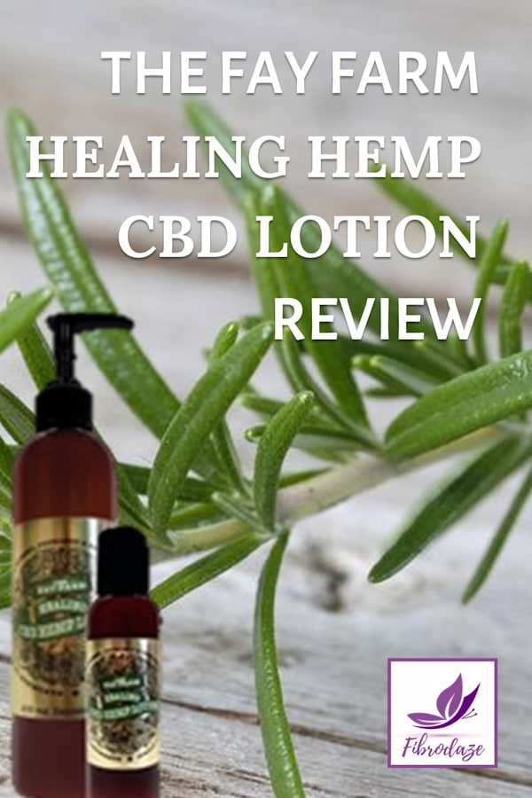 The Fay Farm Healing CBD Hemp Lotion Review
