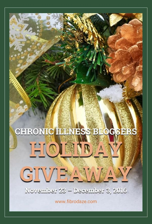 Chronic Illness Bloggers Holiday Giveaway